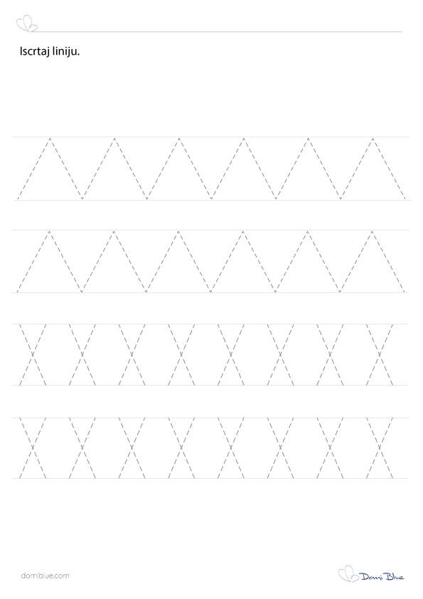 iscrtavanje ravnih linija